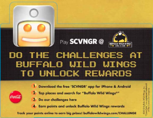 BW3 incorporates SVNGR into its paid advertising. [Credit: Courtesy of Buffalo Wild Wings®]