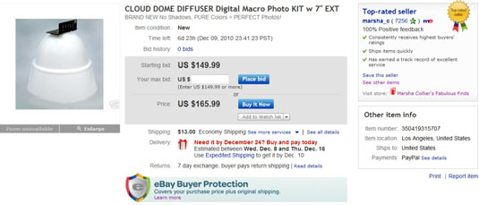 Adding Ebay S View Counter And Buy It Now To Your Listing Dummies
