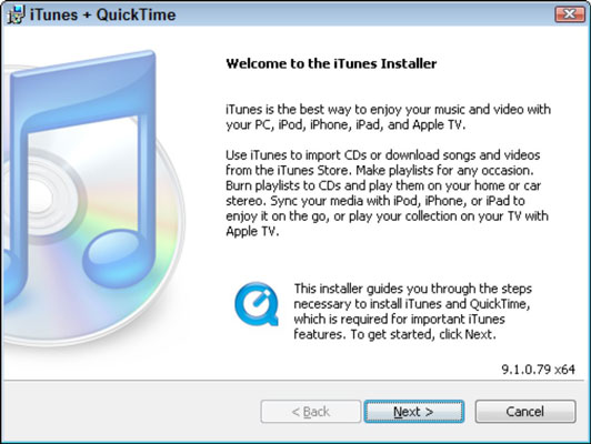 For Seniors: How to Install iTunes on a Computer - dummies