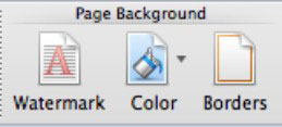 Formatting Page Background And Borders In Word 2011 For Mac Dummies