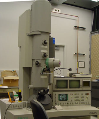 An electron microscope used in working with nanotechnology. [Credit: Courtesy of National Institute