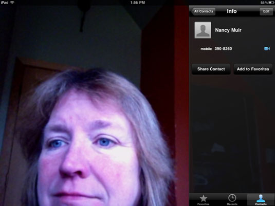 How To Use Your Phone As A Hotspot >> For Seniors: Make a FaceTime Call with iPad 2 - dummies