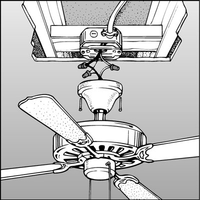How to install a ceiling fan dummies 6assemble the fan according to the manufacturers instructions mozeypictures Image collections