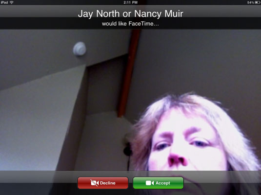 how to call using facetime on ipad