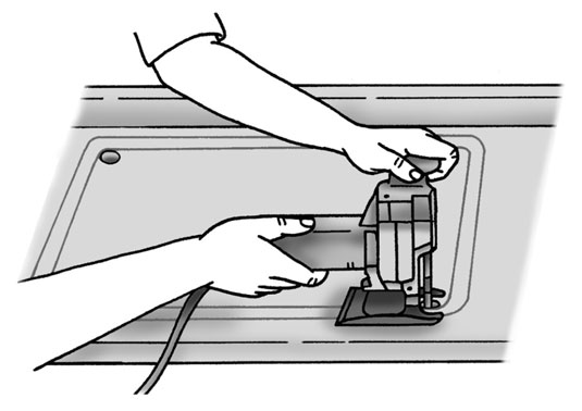 Make The Cut >> Cutting A Hole In A Countertop For The Sink Dummies