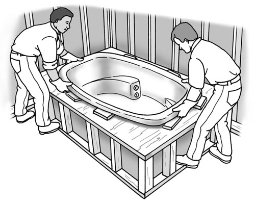 How To Install A Platform Bathtub