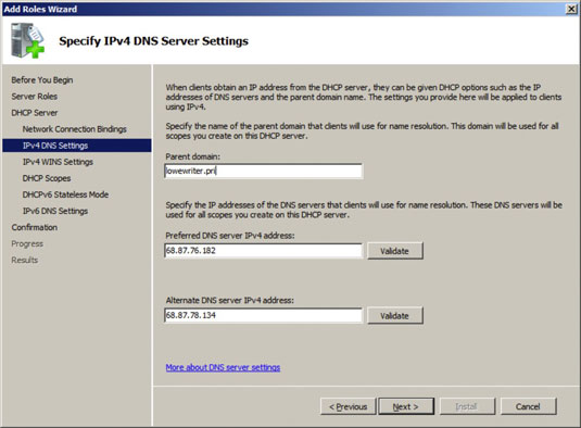 Network Administration: Installing and Configuring a DHCP Server