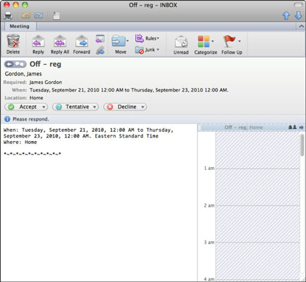 Office 2011 For Mac Respond To Calendar Requests In Outlook