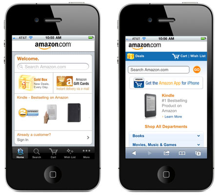 The iPhone deserves credit for driving the popularity of the mobile web. [Credit: Photo courtesy of