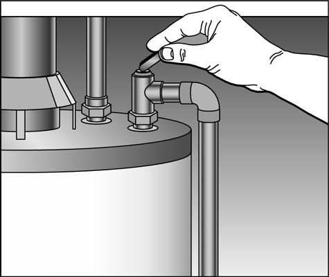 Testing Your Water Heater Temperature And Pressure Relief Valve Dummies