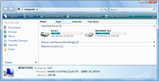 gateway laptop boot to recovery partition
