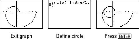 Parametric equations.