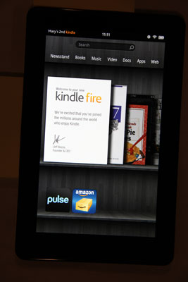 How to Turn Kindle Fire On and Off - dummies