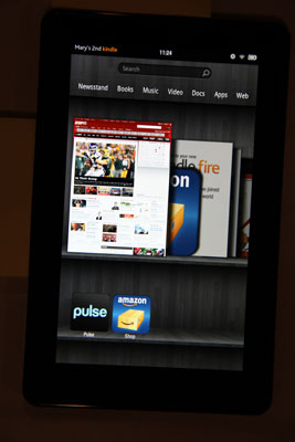 Kindle Fire Status Bar - dummies