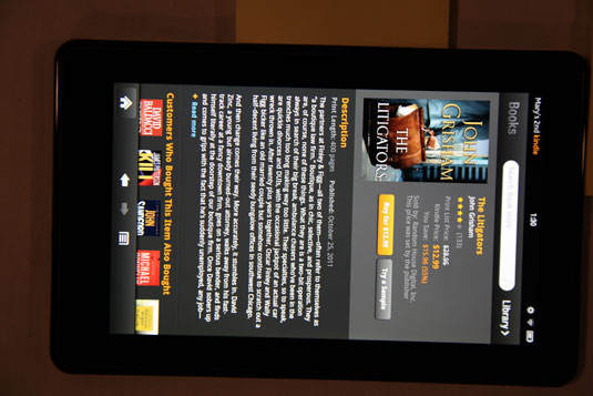 Book On Kindle Fire