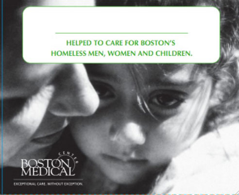 A pinup for the Boston Medical Center.