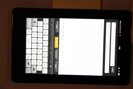 How to Send E-mail from Your Kindle Fire - dummies