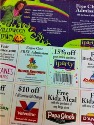 Coupons add value for donors and help you recruit more partners.