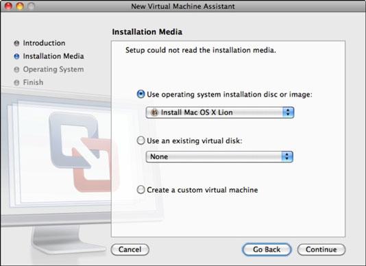 install mac os on windows vm