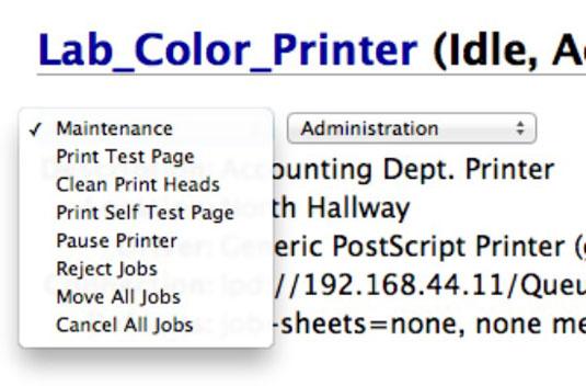Printer Self Test
