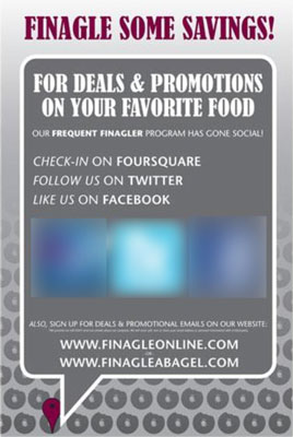 A Flyer for finagleonline.com
