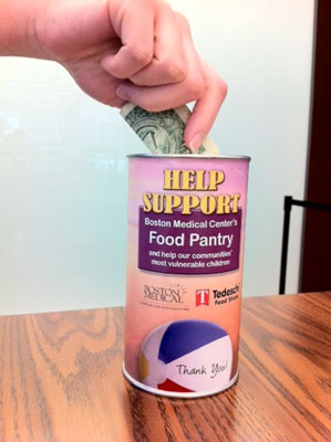 Coin canisters work and are a great first step for any cause marketing program.
