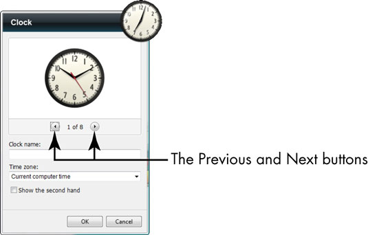How to Add the Clock Gadget to the Windows Desktop - dummies