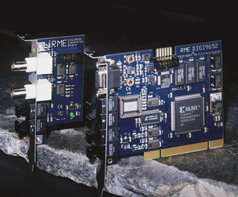 A PCI sound card doesn't contain analog inputs or outputs, so you need to buy separate compon