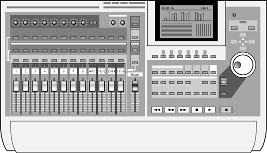 home recording analog and digital mixers dummies. Black Bedroom Furniture Sets. Home Design Ideas