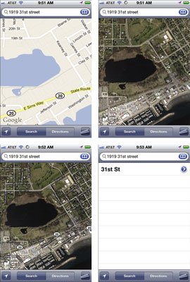 How to Change Views in iPhone's Maps App - dummies Default Map App Iphone on all iphone apps, standard iphone apps, time iphone apps, fun iphone apps, large iphone apps, delete iphone apps, orange iphone apps, home iphone apps, pink iphone apps,