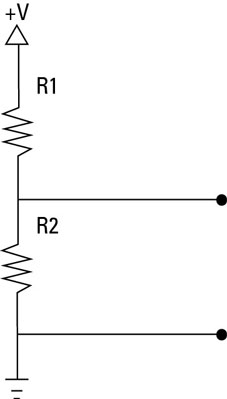 Electronics Projects: How to Divide Voltage with Resistors