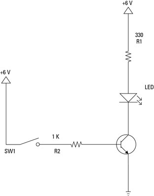 Electronics Components: Use a Transistor as a Switch - dummies