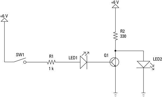 electronics projects  how to build a not gate circuit