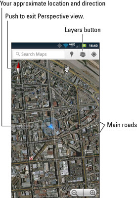 Droid Bionic Maps App: Add Layers - dummies