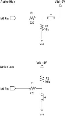 Electronics Projects: How to Connect a Push Button to a