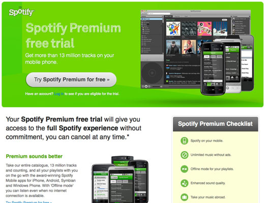 Spotify Invitations and Promotional Offers - dummies