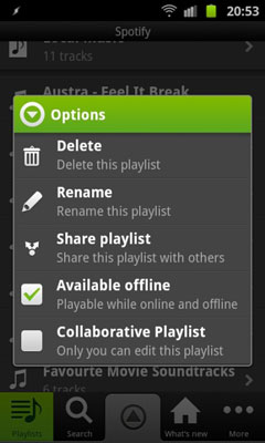 Sync Offline Spotify Playlists Directly from Your Mobile Device