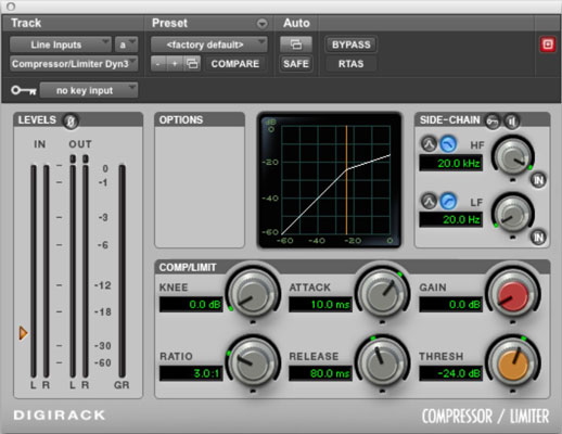 Dynamics processors allow you to control the levels of your signals.