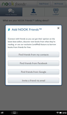 How to Lend NOOK Books on a NOOK Tablet - dummies