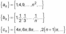 Mathematical sequences including the first few terms plus a rule for finding the nth term