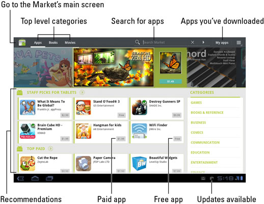 How to Get Free Apps for Your Galaxy Tab from the Market
