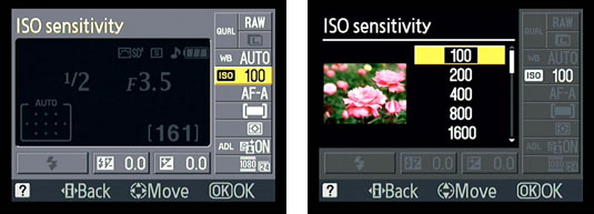 How to Control ISO with a Nikon D3100 - dummies