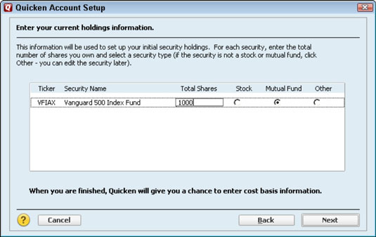 How To Set Up A Tax Deferred Investment Account In Quicken 2012