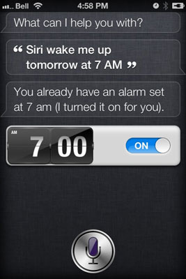 How to Use Siri's Clock - dummies