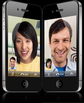 FaceTime on iPhone is more fun than a phone call because you can see to whom you're talking.