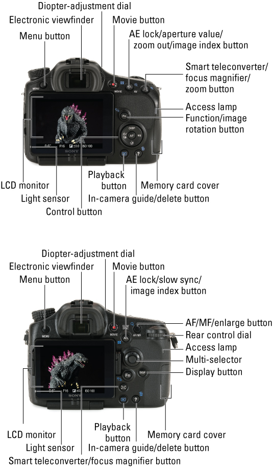 Sony Alpha Slt-a65  A77 For Dummies Cheat Sheet