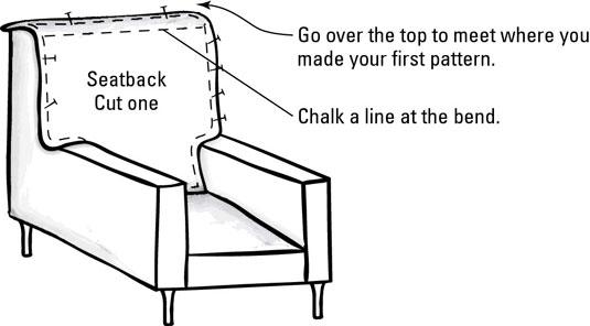 Magnificent How To Make Slipcover Patterns Dummies Machost Co Dining Chair Design Ideas Machostcouk