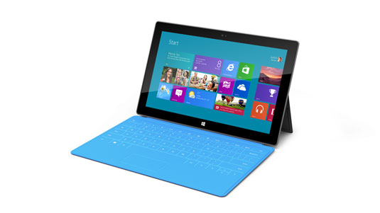 Microsoft's first Surface tablet, due later this year, will run Windows RT.