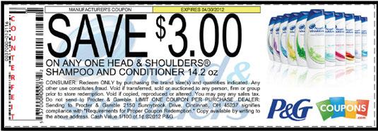 A high-value counterfeit coupon