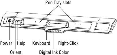 800 series pen tray